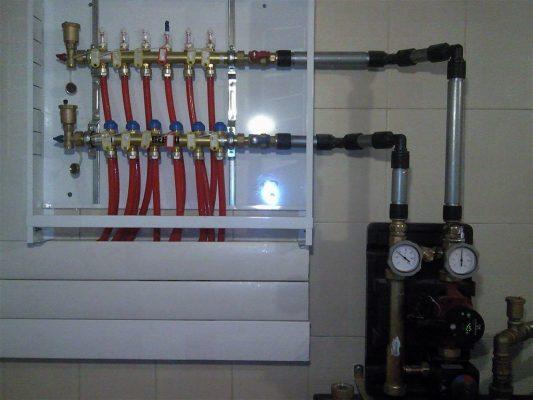 Система отопления помещений